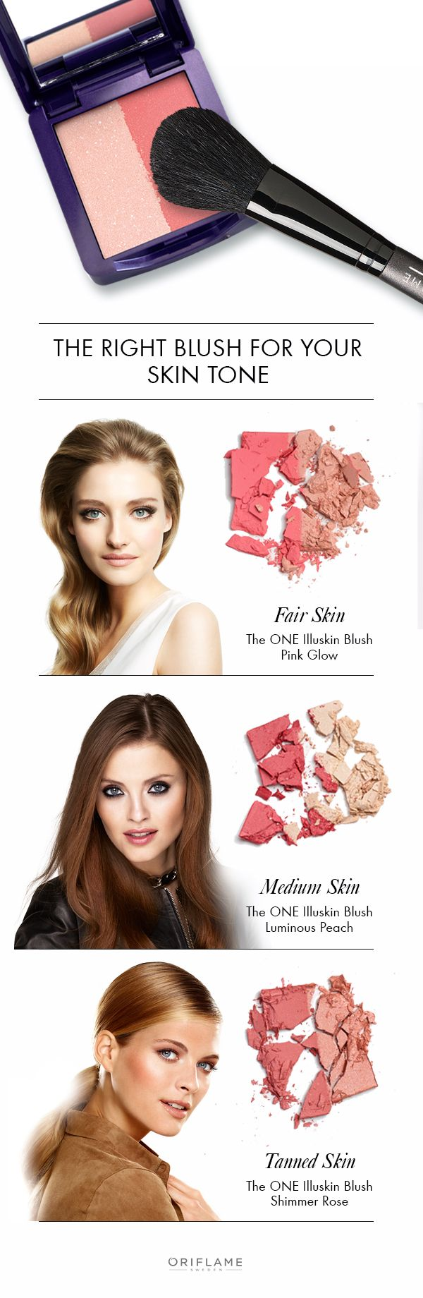 Choosing the right blush for your skin tone can be challenging but we make it easy to choose the right one! Using a two-toned blush means you can use the darker shade to sculpt and the lighter shimmering shade to highlight. Happy blushing!