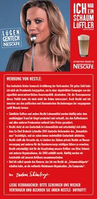 Nescafé Adbusting