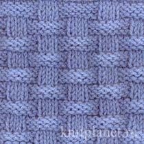 Планета Вязания | Вязание спицами: клетка, ромбы, плетенка