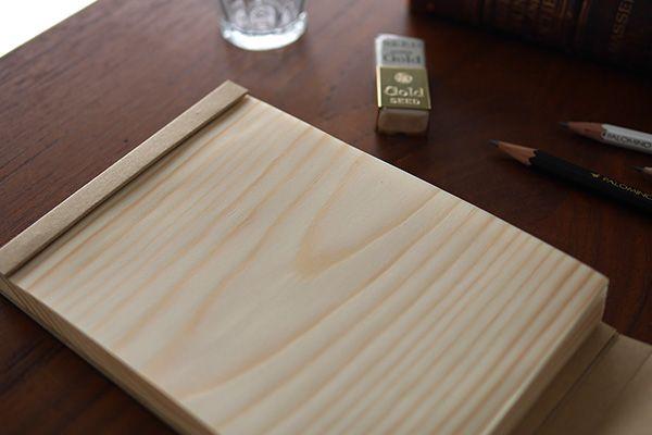 木片便條紙/木片筆記本 – 直物生活文具
