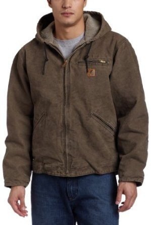 Carhartt Men`s Sandstone Sierra Jacket X-Large Tall $73.00 - $135.00