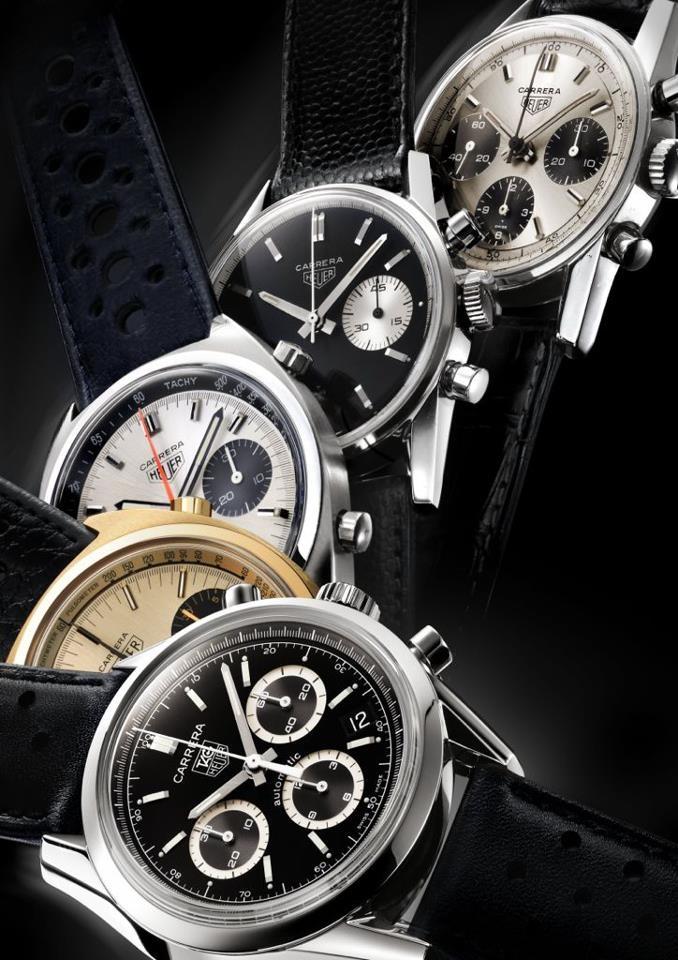 TAG Heuer celebra 50 años del Carrera  Si quieres conocer los nuevos modelos presentados en Ginebra, visita: www.watches-world.com.mx.  Los relojes de tu vida