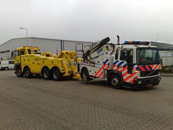 De allerbeste positie voor een auto van de politie (of beter parkeerbeheer)