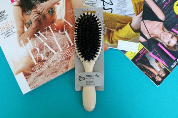Review: Etos Smooth & Shine haarborstel met echt zwijnenhaar