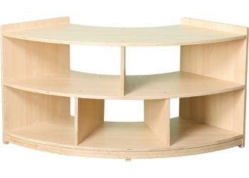 Expanding the Natural Spaces range we now offer the open back range of furniture. This unit is 40 cm deep and 60 cm high and 112 cm across corner to corner. It ...