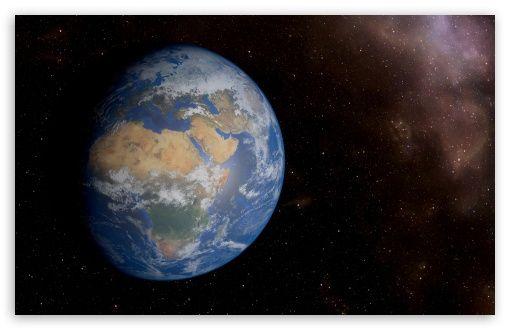 Fantastic Space View of Earth in 8k Resolution HD desktop wallpaper : Widescreen…