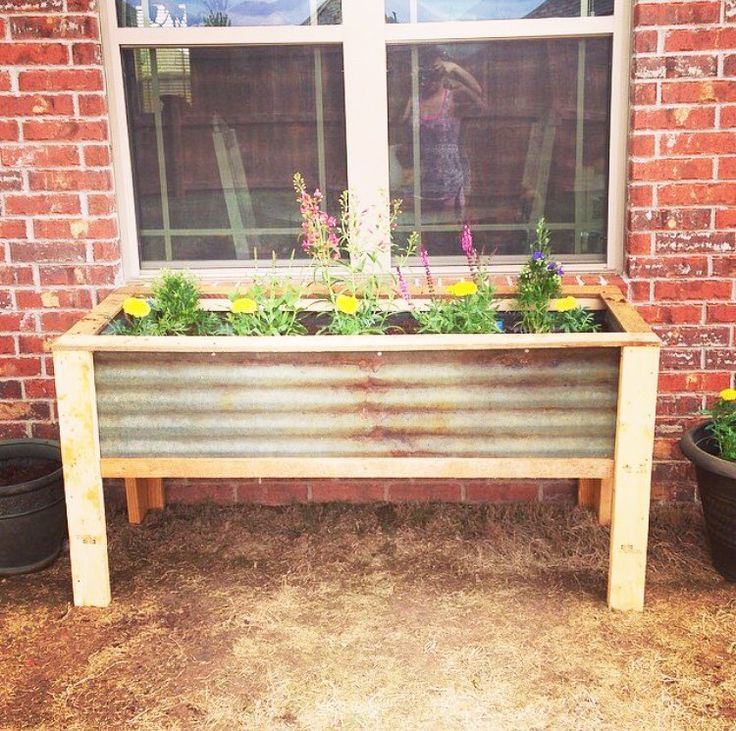 105 Best Images About Planter Boxes On Pinterest Raised Beds Wood Chisel And Raised Planter Boxes