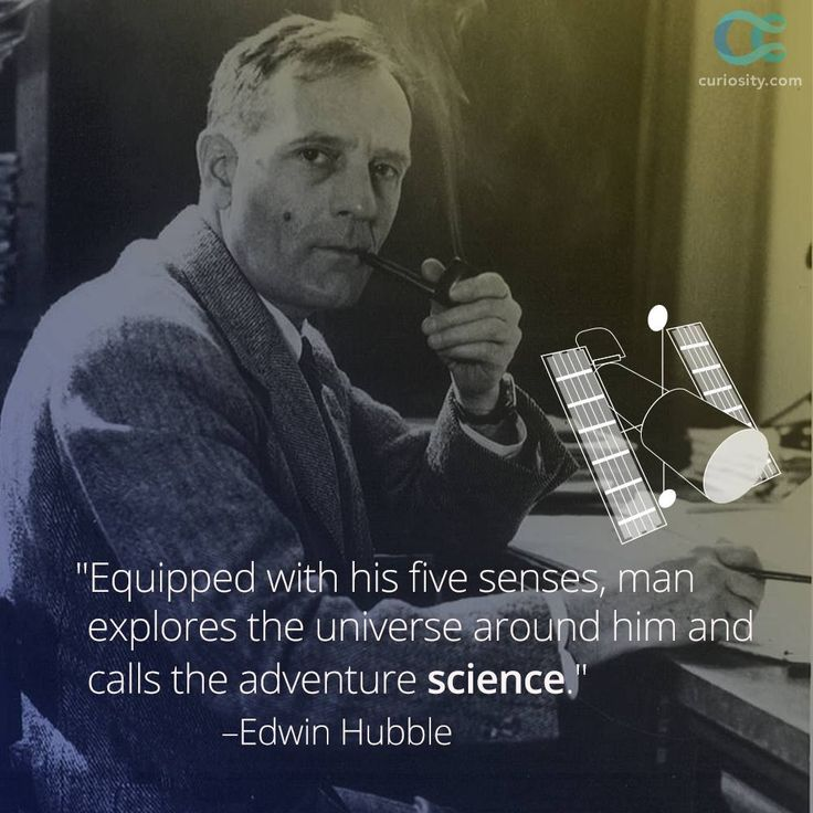 Edwin Hubble, born November 20, 1889, pioneered the concept of an expanding universe. The Hubble Space Telescope, which was named in his honor, was not deployed until more than 30 years after his death. Learn how this brilliant astronomer found the first real evidence of the Big Bang: https://curiosity.com/playlists/edwin-hubble-reaching-new-heights-in-space-t2cEq15j/?utm_source=pinterest&utm_medium=social&utm_campaign=112024pin