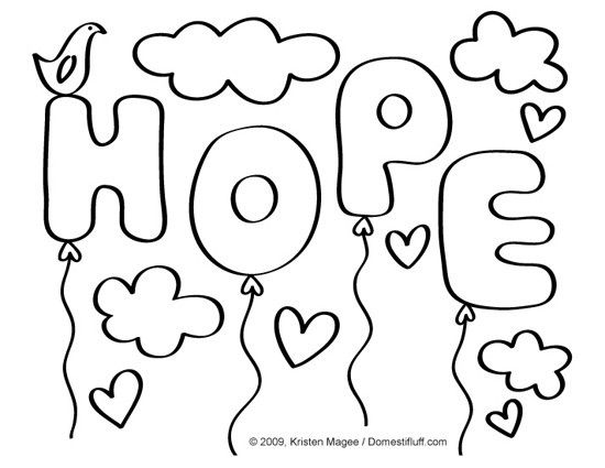 neuroblastoma survivors coloring pages - photo#2