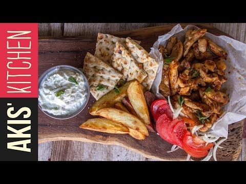 Greek Chicken Gyro | Akis Kitchen Subscribe:
