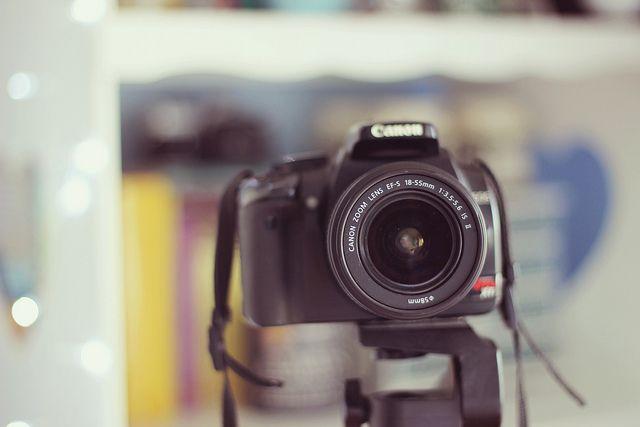 como tirar auto-retrato com foco