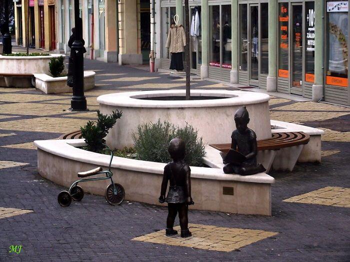 Children Playing, Kaposvár, Hungary