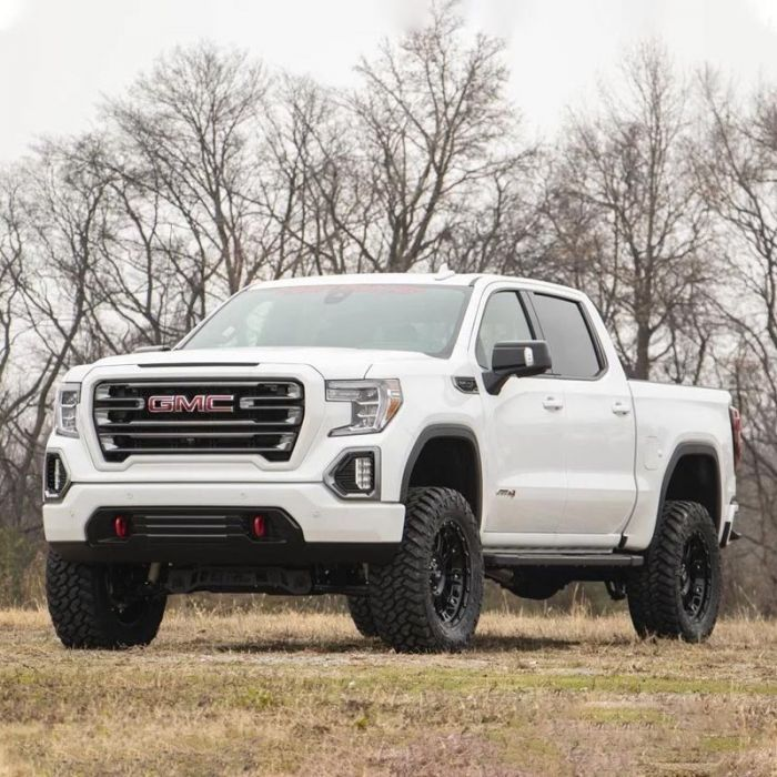 4 2019 Chevy Silverado 1500 Trail Boss 4wd Lift Kit By Rough