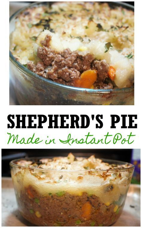 LIfe is about eating favorite foods. So my husband's favorite dish is shepherd pie, I love making for him but hate the dirty stove top. So this way fixed that. Shepherd's Pie Instant Pot