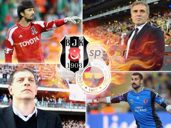 Beşiktaş-Fenerbahçe büyük derbiye saatler kaldı