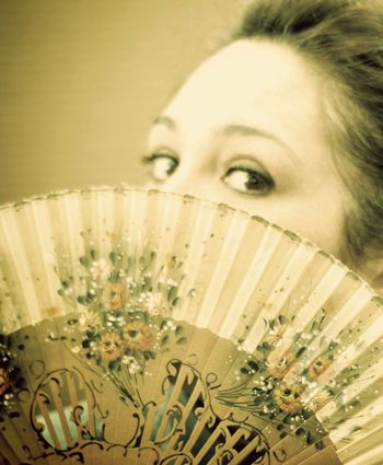 Lady Windermere's Fan.  Young, beautiful, but something of a puritan, Lady Windermere is one of the stars of London society. But life in the limelight has many perils - and scandal can be the kiss of death . . .   http://www.pitlochry.org.uk/pitlochry-festival-theatre/whats-on/lady-windermeres-fan.html