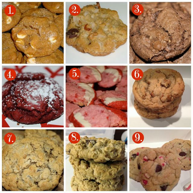Favorite Christmas Cookies | The Most Wonderful Time of the Year | Pi ...