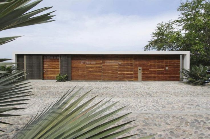 Modern Stone Driveway Design Ideas