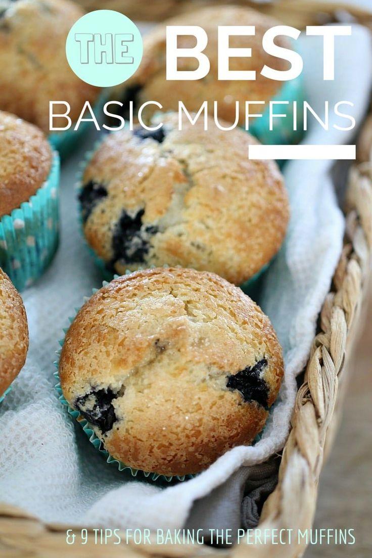 Best Basic Muffin Recipe