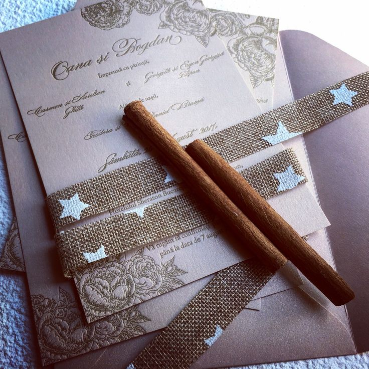 Dust pink + gold ink wedding invitation