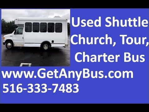 Preowned Buses For Sale | 2007 Ford E350 Non CDL Wheelchair Shuttle Bus