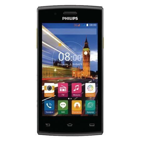 Philips S307 3G 8 Gb Black/Yellow  — 3990 руб. —  Благодаря процессору Quad-Core 1,3 ГГц смартфон Philips стал намного мощнее. Он выполняет одновременно несколько команд гораздо быстрее, чем раньше. Мгновенная загрузка веб-страниц, непрерывное воспроизведение видео и быстрая загрузка изображений — вам больше не придется ждать. А еще вы сможете играть в любимые игры в отличном качестве!  Организуйте свою жизнь — разделите контакты на 2 группы, используя два телефонных номера. С двумя…