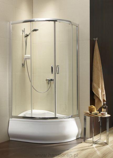 Premium Plus E Radaway kabina asymertyczna 100x80 1700 chrom przejrzyste - 30481-01-01N  http://www.hansloren.pl/Kabiny-RADAWAY/245