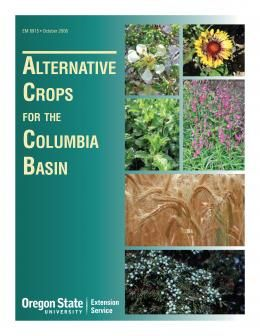 Image of Alternative Crops for the Columbia Basin publication