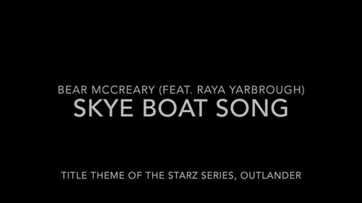 Skye Boat Song (Title Theme to Outlander + Lyrics)Lyrics were changed for the show - see other video for the original, both are good.