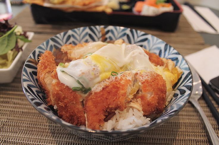 Tokyo Kitchen at yound and bloor in Toronto. Chicken katsu don