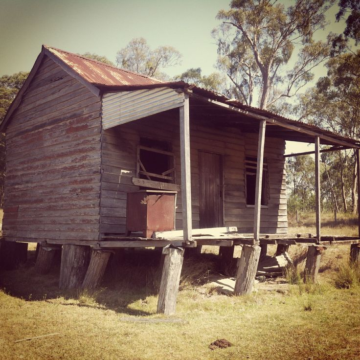 Old boonah hut