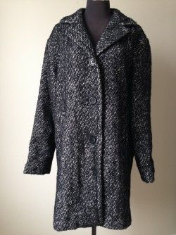 Anne Klein Cocoon Coat, Size Medium  New with tags – price not shown on tag Original Retail:  unknown but last sale price was $99.  Original retail estimated to be over $200. Our Price:  $50