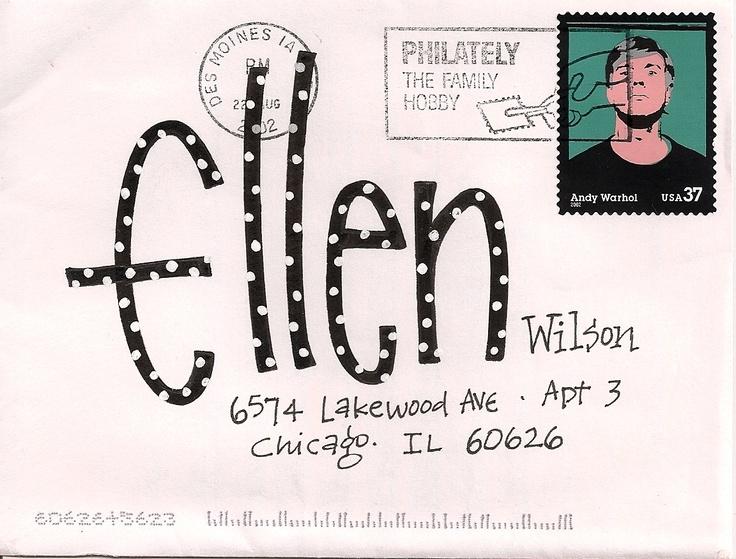 Love the Polka Dots! pushing the envelopes: EBW few more dots