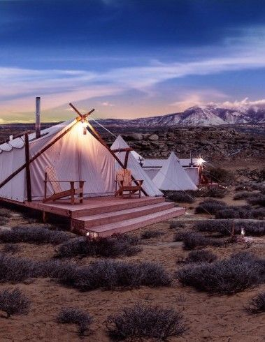 Moab Under Canvas - Utah, USA #glamping