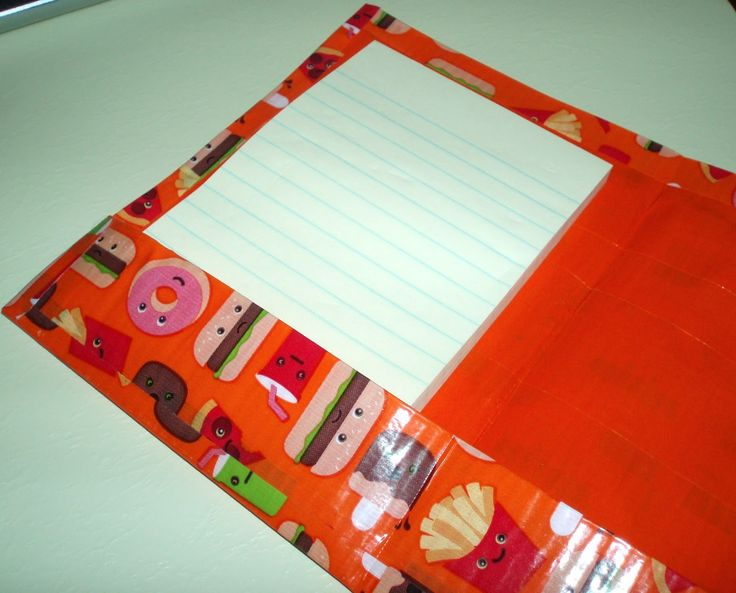 duct tape folder ideas - Google Search