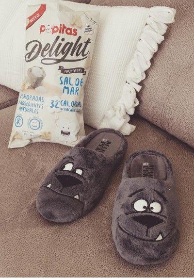 Zapatilla de estar por casa para hombre modelo DOG de la marca Marpen Slippers #slippers #pantufla #zapatilladecasa #homewear