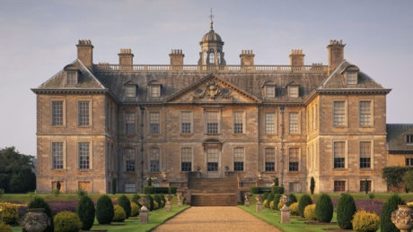 Belton House, a Restoration country house built 1685-88 (this is later than the Tudor period - still a fantastic place)