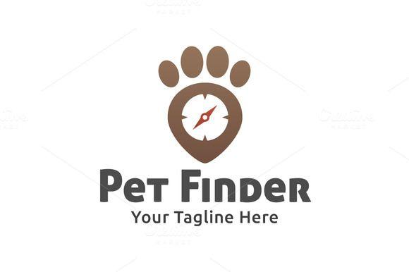 Pet Finder Logo by Martin-Jamez on Creative Market