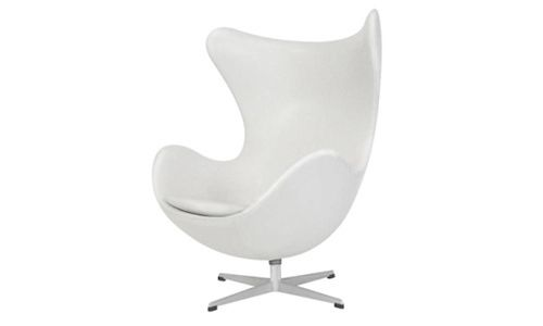 Egg chair, by Arne Jacobsen, 1958.