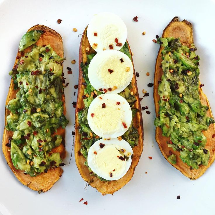 Have you heard about the sweet potato toast trend? It's a delicious gluten-free way to enjoy your avocado toast!