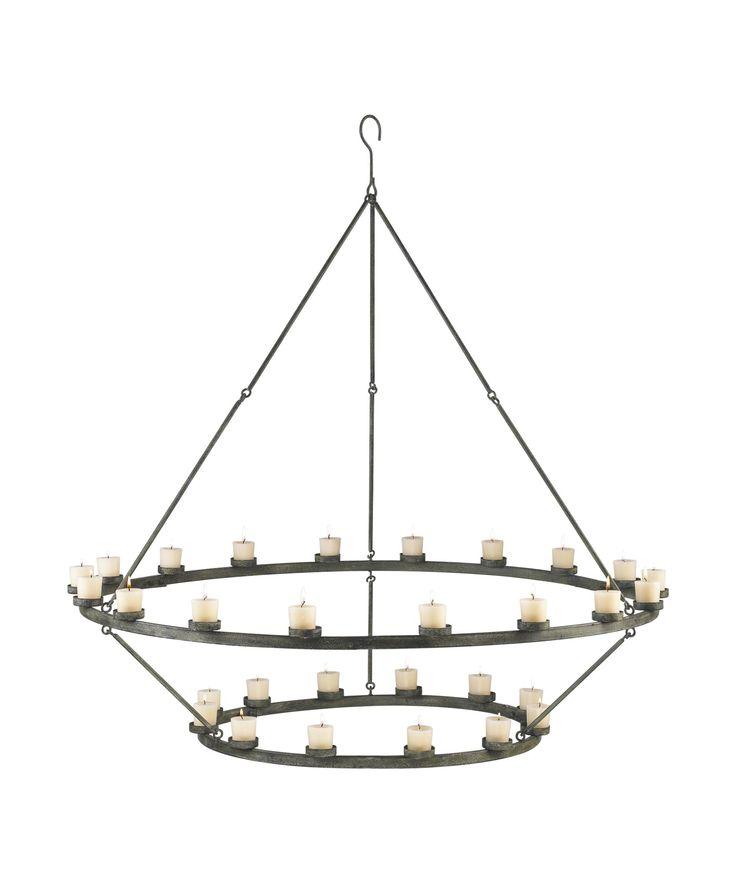 66 best Candle chandelier - hanging votive tea light holder images ...