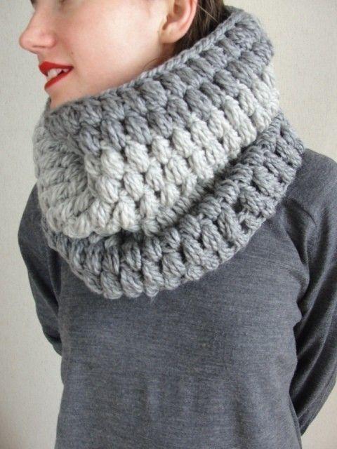 Crochet Stitch Mens Scarf : ?nfinity Crochet Women Scarf Men Scarf-Cowl Scarf- loop scarf-Crochet ...