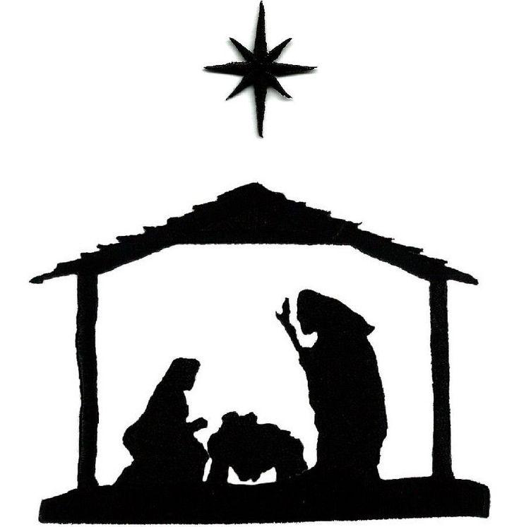 Nativity star silhouette imgkid the image kid