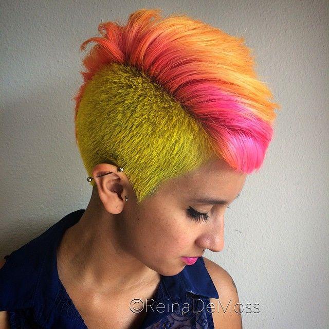 hard core punk rock hair