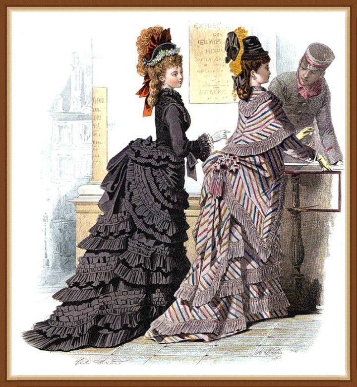 Пазл Викторианская мода — собрать пазл онлайн