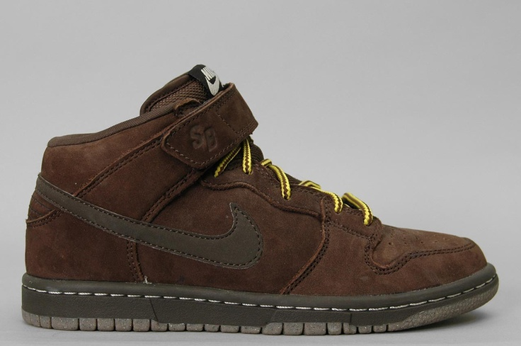 Nike SB Dunk Mid Premium Dark Chocolate