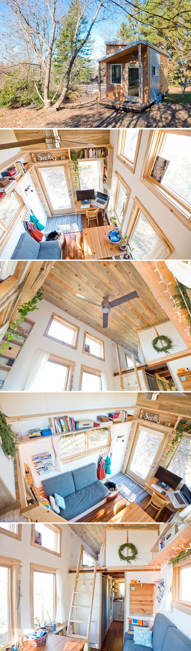 A beautiful 240 sq ft tiny house