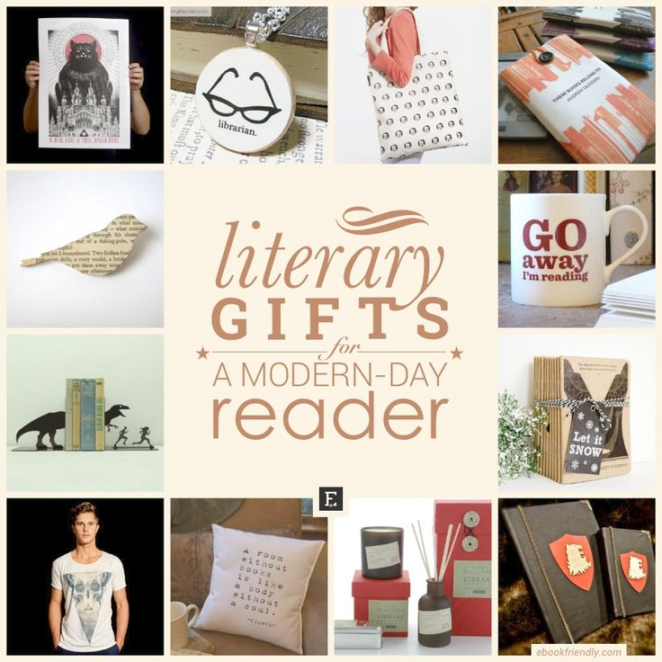All the nicest #literary #gifts are collected in one article: 50 beautiful gift ideas to explore!