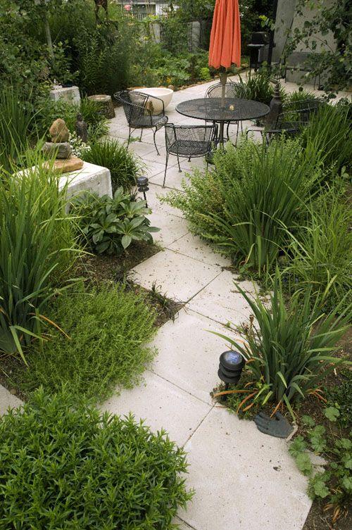 Green Courtyard Landscape Design Photos Garden