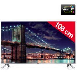 Il televisore 42LB5700 di LG associa la tecnologia di retroilluminazione Full LED simple a un pannello TFT IPS per immagini nitide e contrastate, dai colori naturali, con qualsiasi angolo di visione. Potrai così gustarti appieno la sua risoluzione Full HD 1080p per i tuoi intrattenimenti multimediali.